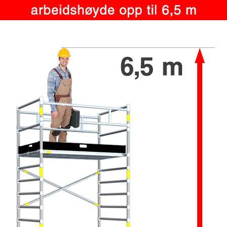 6.5 m arbeidshøyde