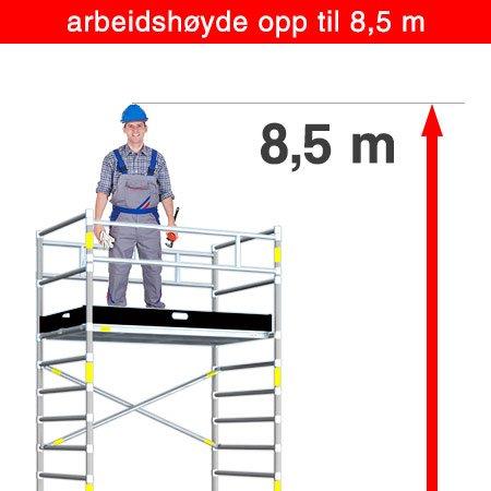 8.5 m arbeidshøyde